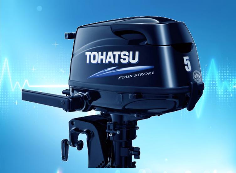 лодочный мотор тохатсу 3.5 характеристики 4 такта