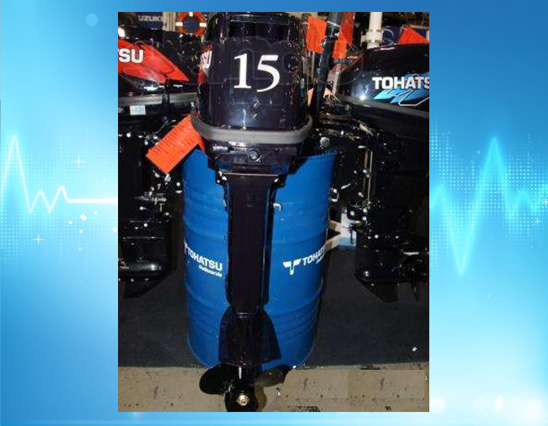мотор tohatsu m15d2