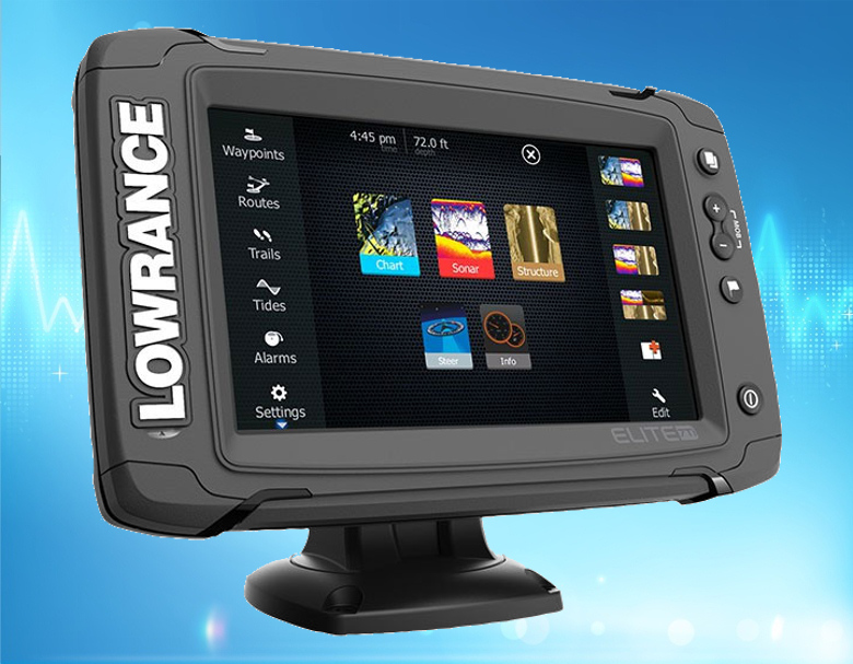 lowrance fish finder gps