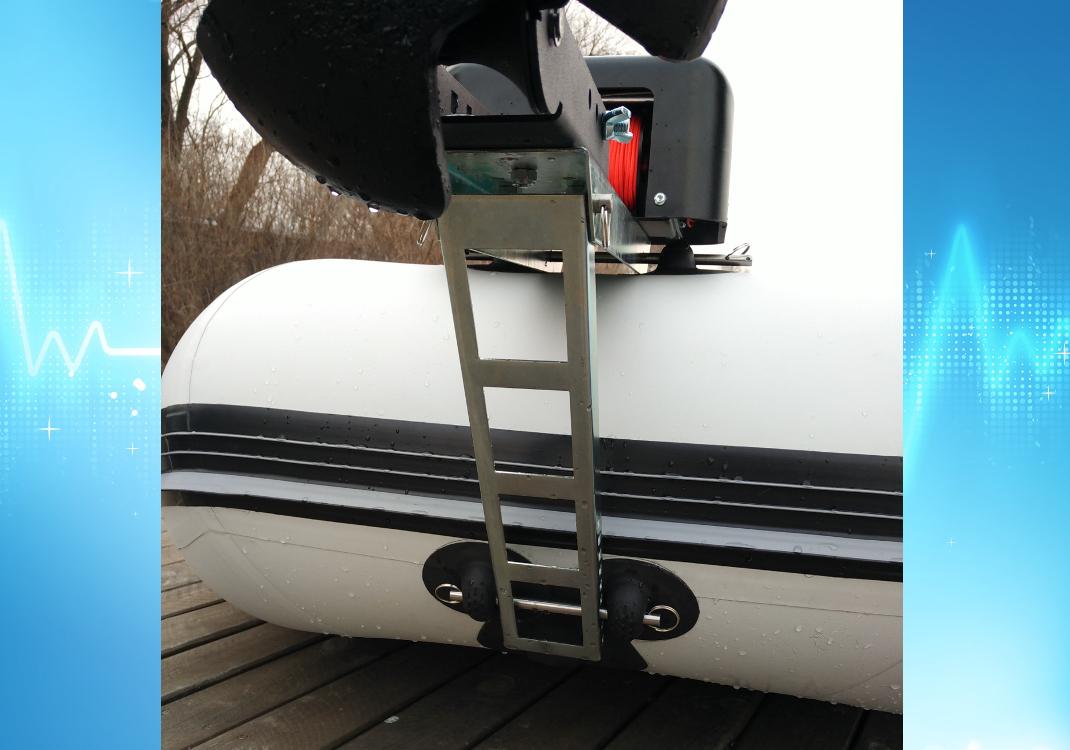 Лебёдка для якоря на лодку Якорная лебедка для лодки пвх своими руками